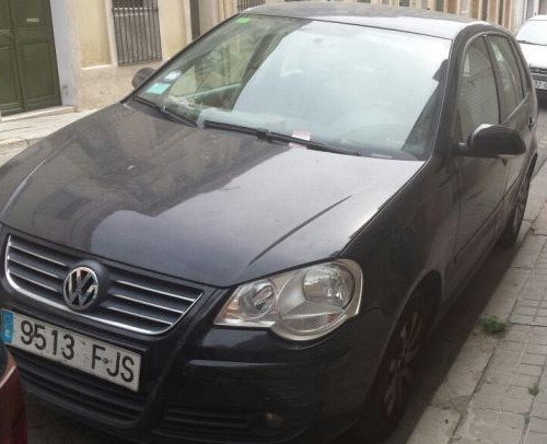 P0044 Volkswagen Polo negro