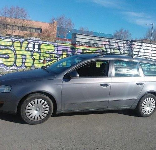 P0074 vw Passat familiar gris