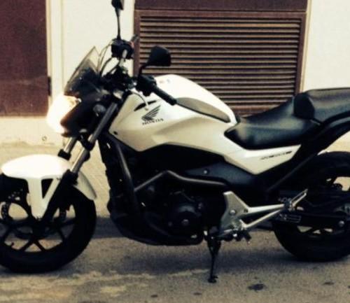 p0044 Honda NC700S blanco