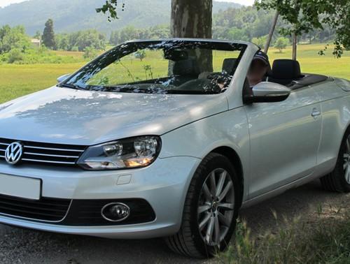 10134 alquiler volkswagen eos plata cabrio