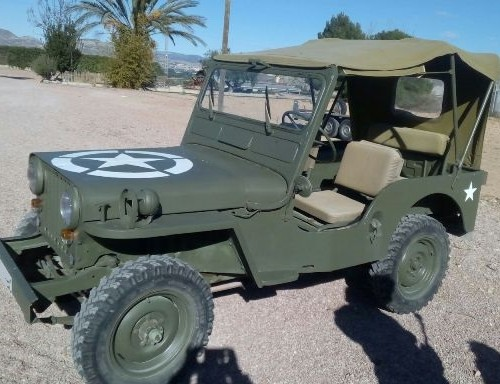 P0013 jeep willys militar