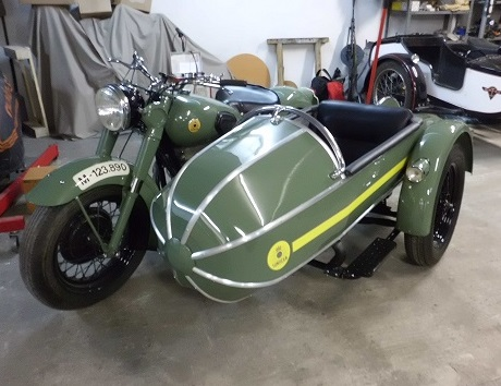 P0016 Sidecar verde