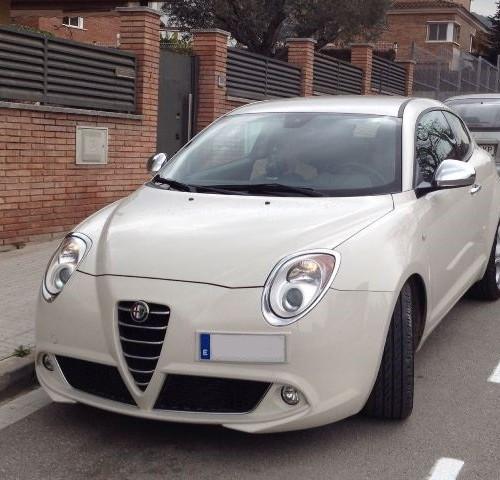 P0044 Alfa Romeo Mito blanco front