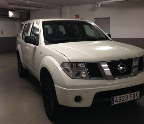 P0044 Nissan Pathfinder blanco front