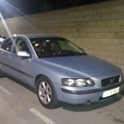 P0093 Volvo S60 plata front