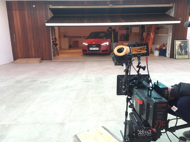 Anuncio Audi A1 S1 behind the scenes carcare and services 1 tyreaction 2