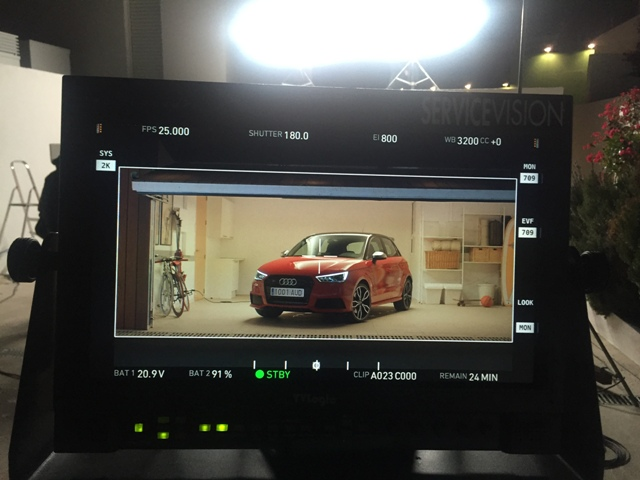 Anuncio Audi A1 S1 behind the scenes carcare and services 1 tyreaction 4