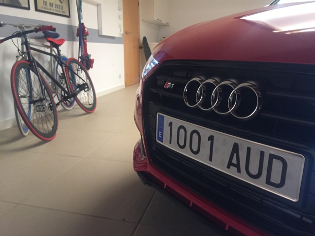 Anuncio Audi A1 S1 behind the scenes carcare and services 1 tyreaction 5