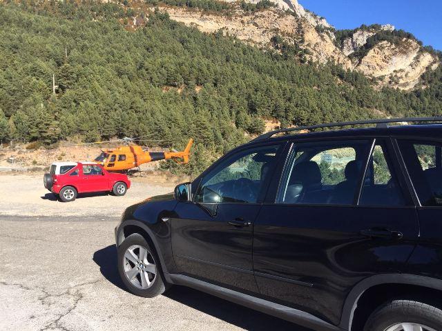 Anuncio Orange David Villa BMW X5 tyreaction vehículos escena 2