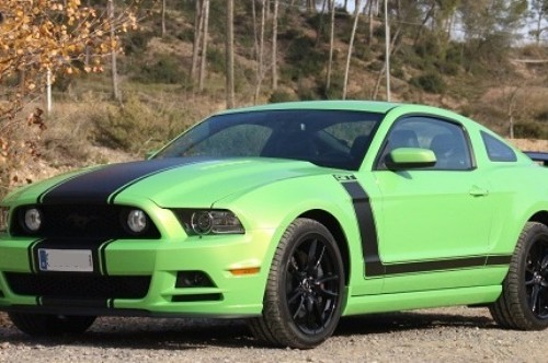 10405 Ford Mustang verd