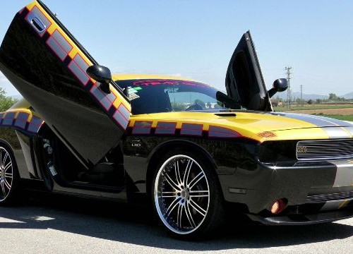 10432 Dodge challenger tuning front