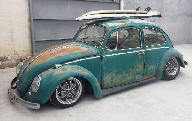 p0044 Volkswagen escarabajo verde front
