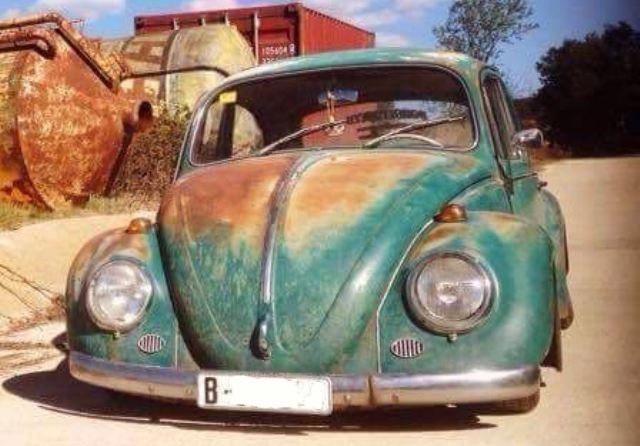 p0044 Volkswagen escarabajo verde front2
