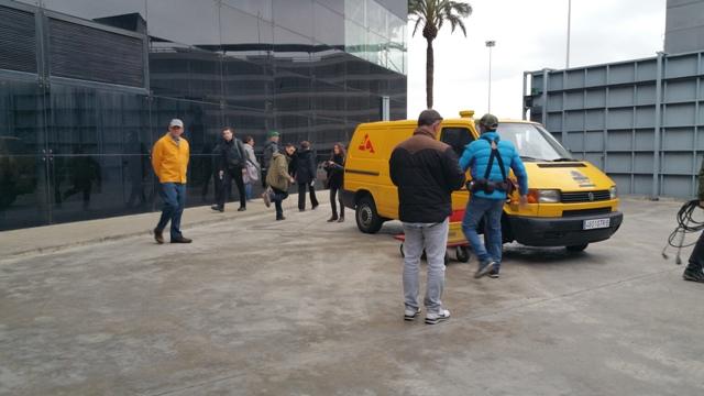 American Odyssey making of Barcelona tyreaction 2
