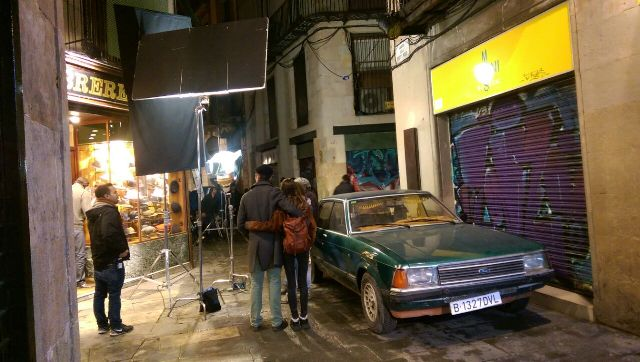 American Odyssey making of Barcelona tyreaction 8
