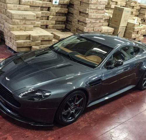 P0117 Aston Martin Vantage V12 plomo front