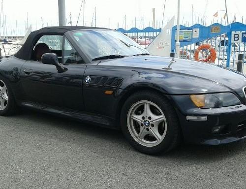 P0138 BMW Z3 cabrio negro lat