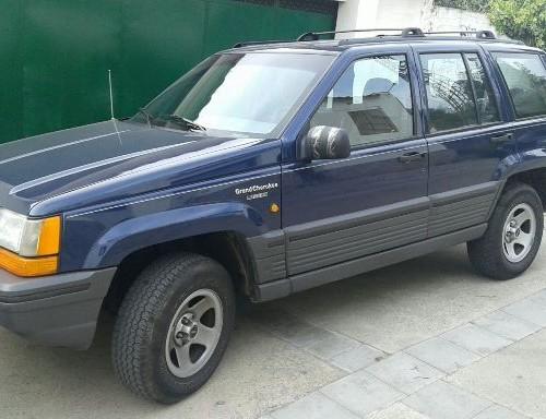 P0138 Jeep GrandCherokee azul front