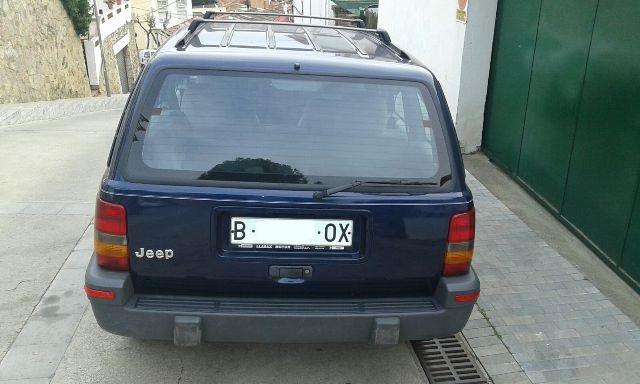 P0138 Jeep GrandCherokee azul tras