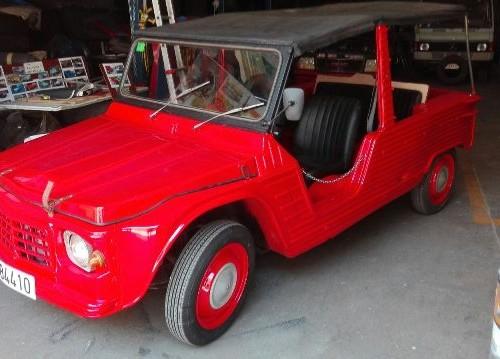 P0001 Citroen Mehari rojo front