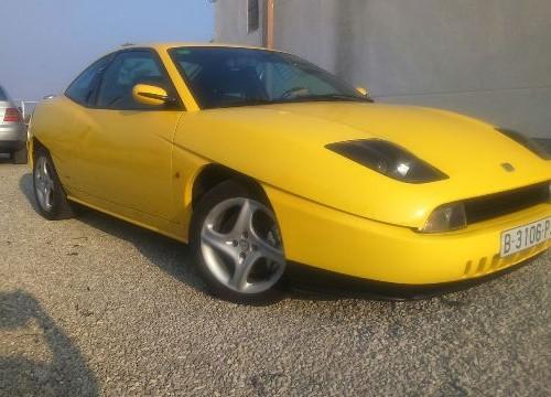 P0001 Fiat Coupe amarillo