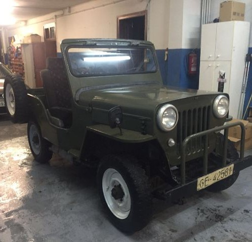 P0001 Jeep Willys verde