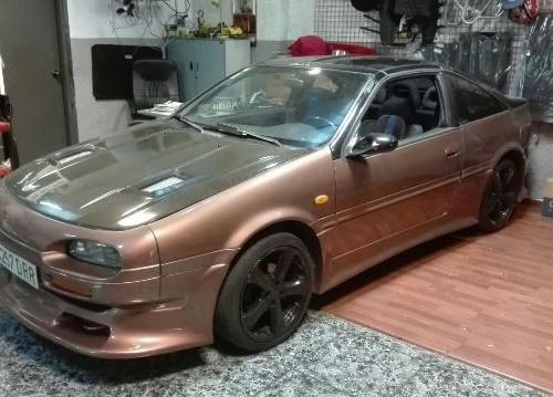 P0001 Nissan 100 NX dorado front