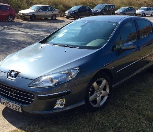 P0001 Peugeot 407 gris front