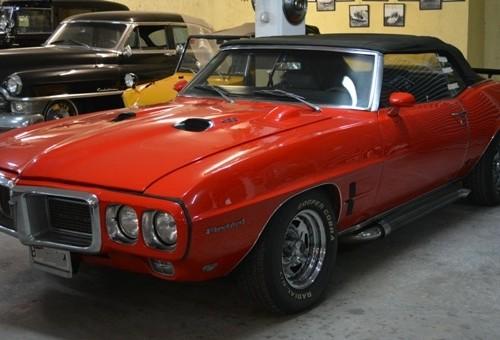 P0050 Pontiac firebird cabrio rojo front