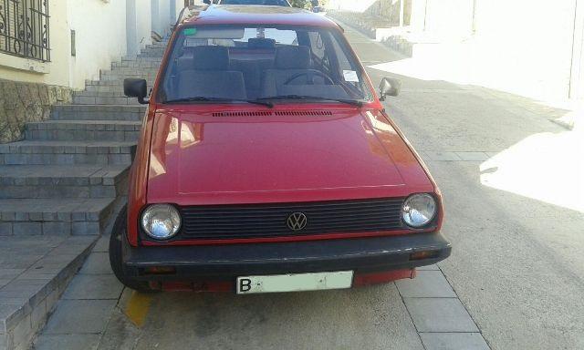 P0138 Volkswagen Polo MK1 rojo front