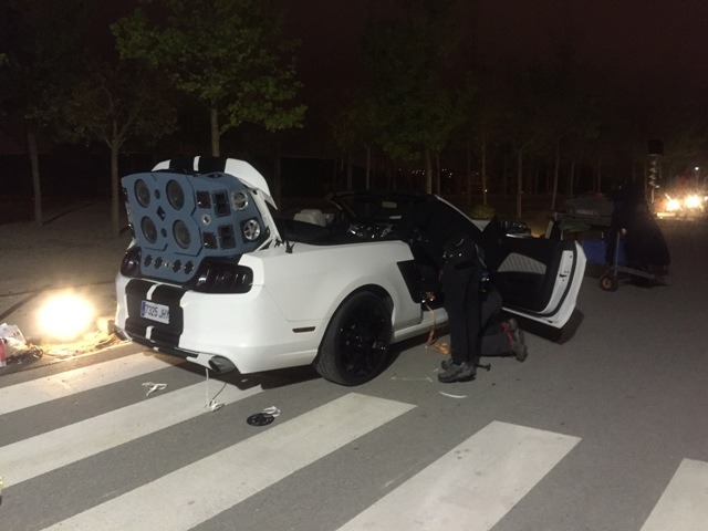 Tyreaction vehiculos escena videoclip dj tïesto & jauz infected tomorrowland 2016 behind the scenes making off 12