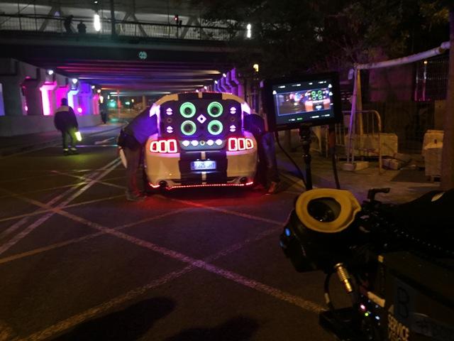 Tyreaction vehiculos escena videoclip dj tïesto & jauz infected tomorrowland 2016 behind the scenes making off 16