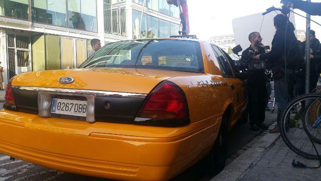 alquiler taxi nyc new york yellow cab para anuncios y peliculas barcelona tyreaction 2