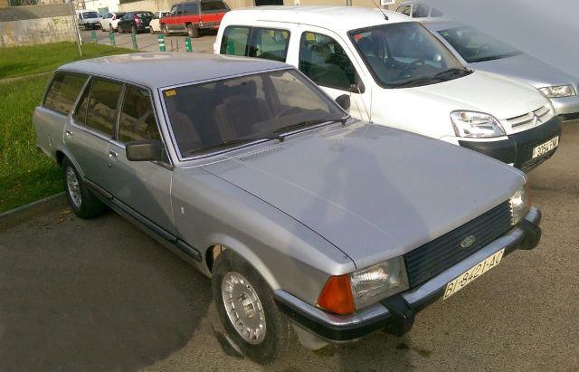 p0001 Ford granada wagon plata front