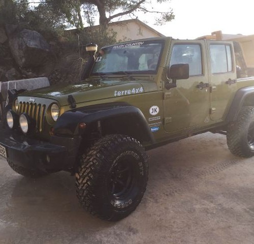 10437.2 Jeep Wrangler verde front