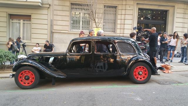 El elegido making off tyreaction vehiculos de escena pelicula epoca 14 alquiler citroen 11 stromber