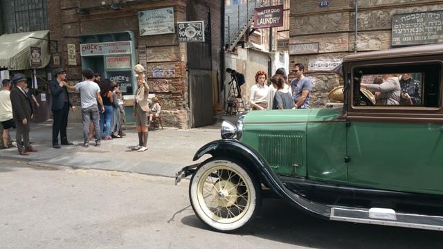 El elegido making off tyreaction vehiculos de escena pelicula epoca 17 alquiler ford a b