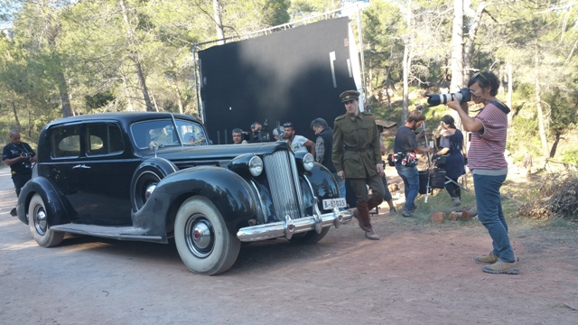 El elegido making off tyreaction vehiculos de escena pelicula epoca 8