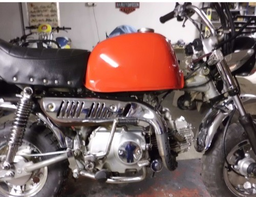 P0016 Mini moto roja1