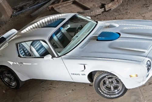 10323 Pontiac Trans AM455 blanco