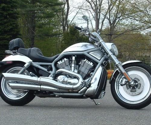 10402 Harley V-Rod gris referencia