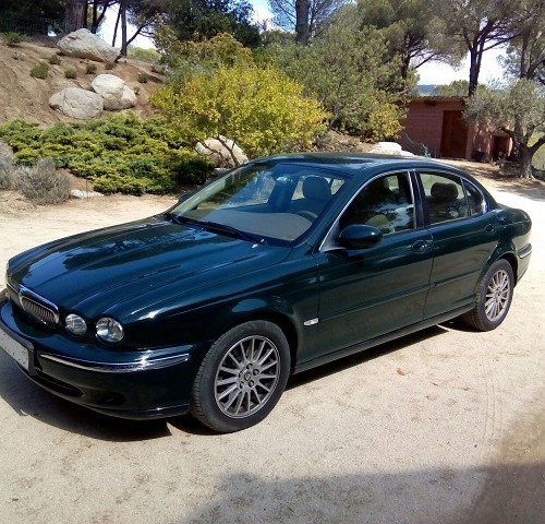 P0044 Jaguar X-Type verde botella