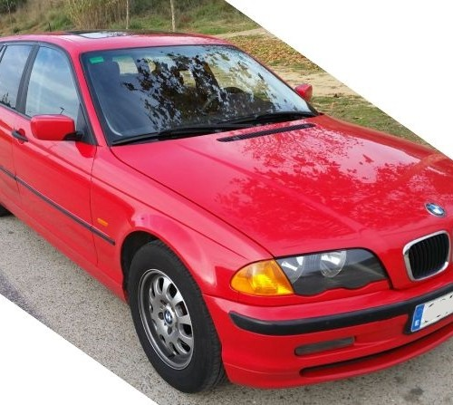 p0044 BMW serie 3 wagon rojo front