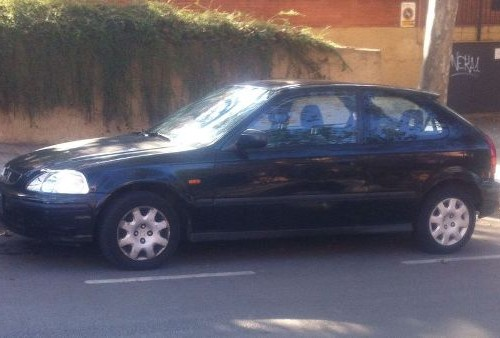 p0044 Honda Civic negro lat