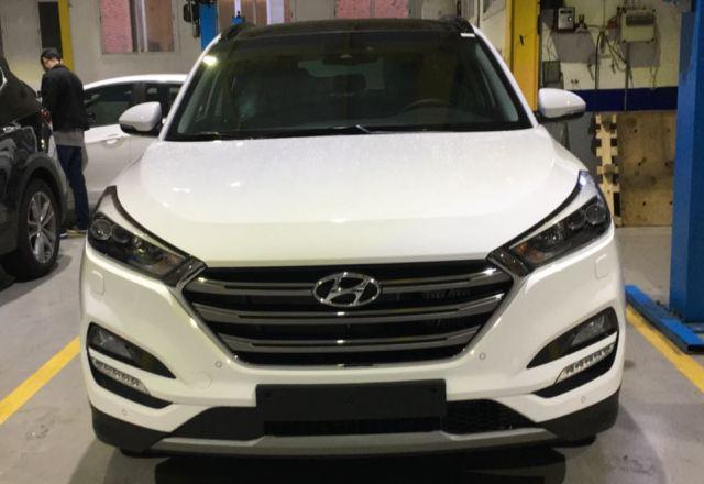 p0044 Hyundai tucson blanco front