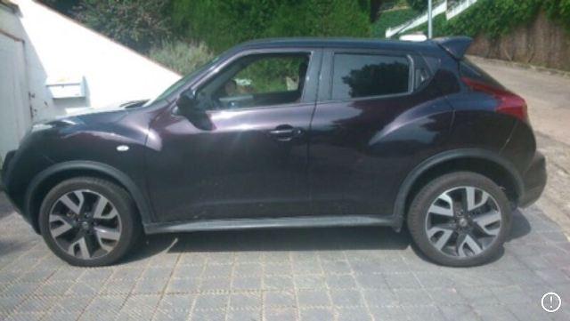 p0044 Nissan Juke negro front
