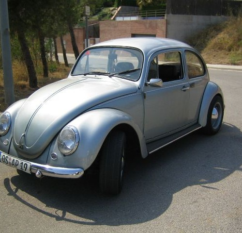p0044 Volkswagen escarabajo plata front