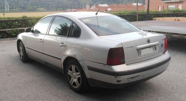 p0044 volkswagen  passat plata tras