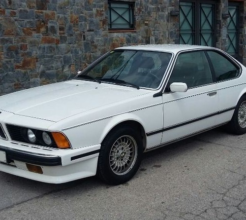 p0057 bmw 635 csi blanco front
