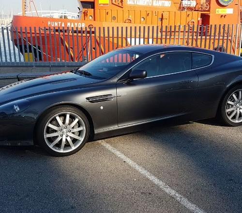 p0117 Aston martin db9 gris front